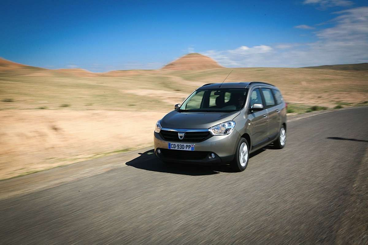 Dacia Lodgy marrone