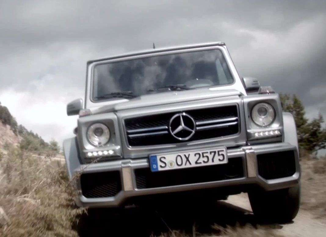Mercedes Classe G63 AMG frontale
