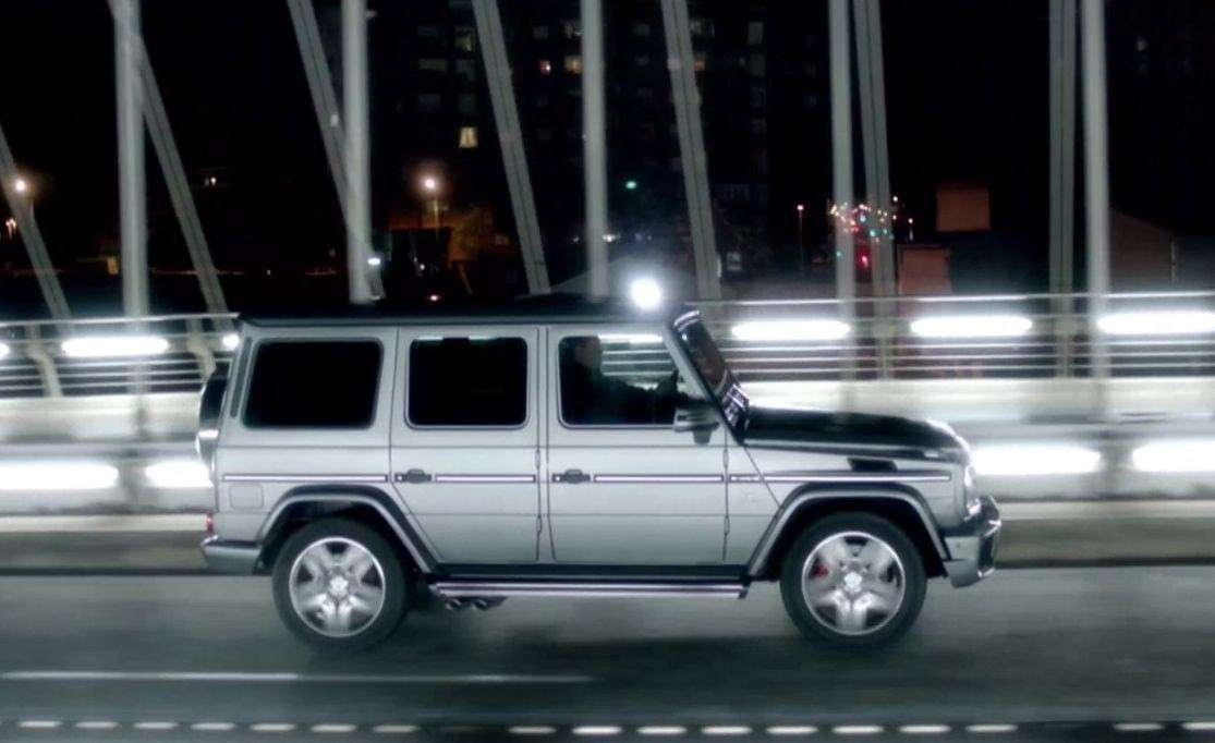 Mercedes Classe G63 AMG laterale
