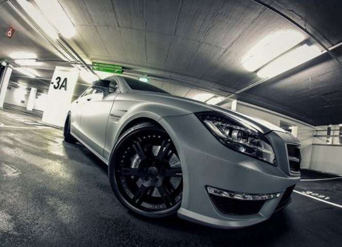 Mercedes CLS 63 AMG by Wheelsandmore particolare cerchio