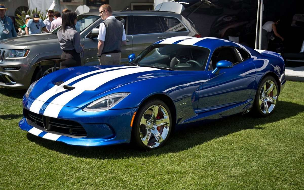 SRT Viper GTS Launch Edition 2013 frontale