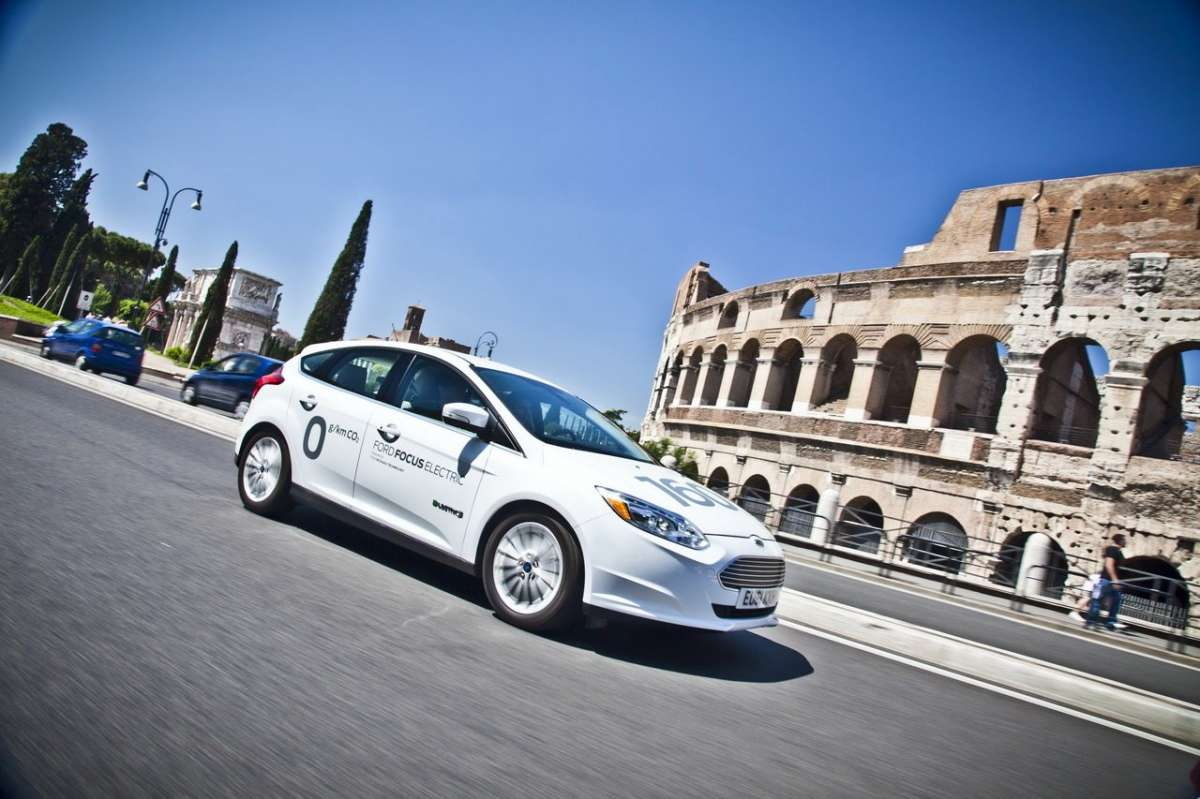 Ford Focus elettrica SYNC Ford Touch