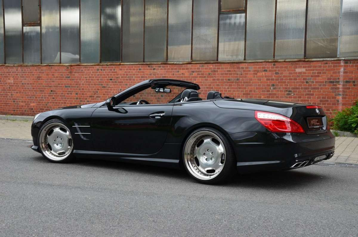 Mercedes SL 500 by MEC Design fiancata