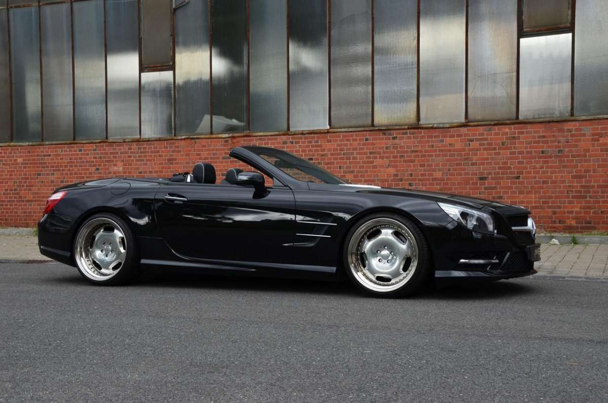 Mercedes SL 500 by MEC Design fianco