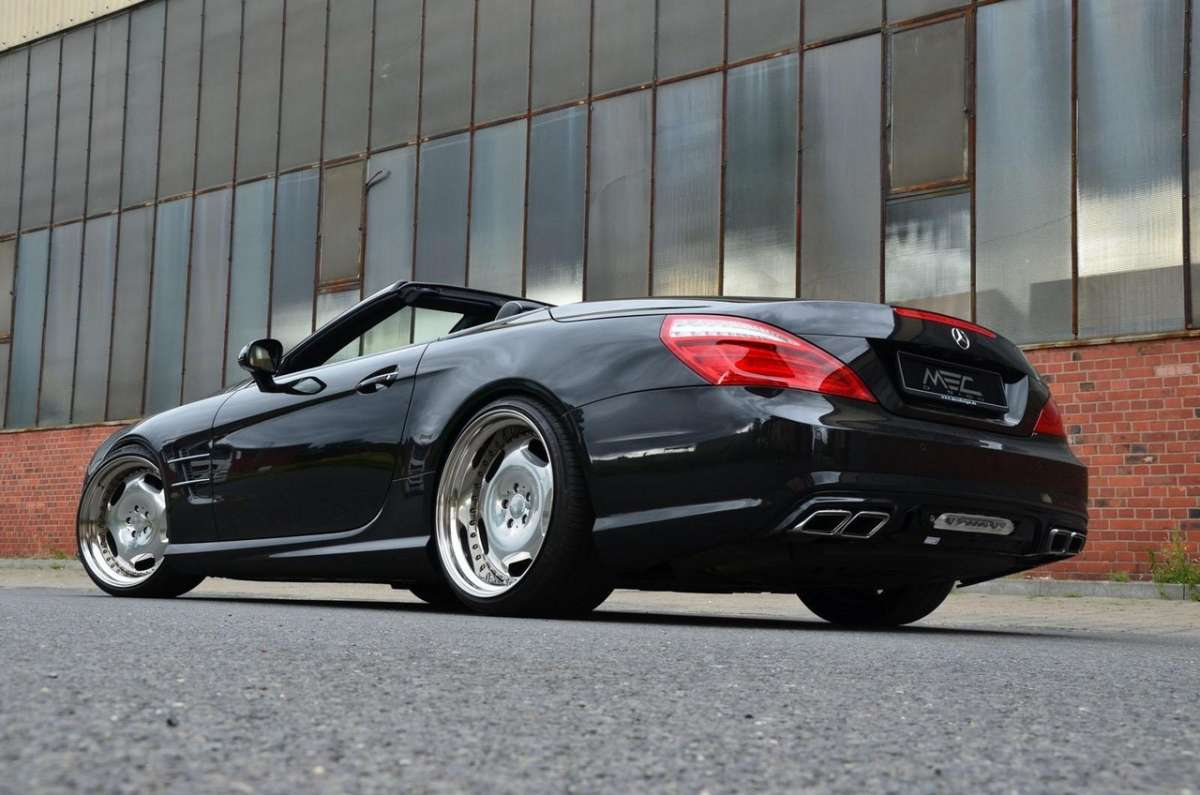 Mercedes SL 500 by MEC Design laterale posteriore