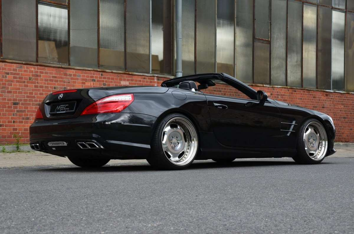 Mercedes SL 500 by MEC Design laterale retro