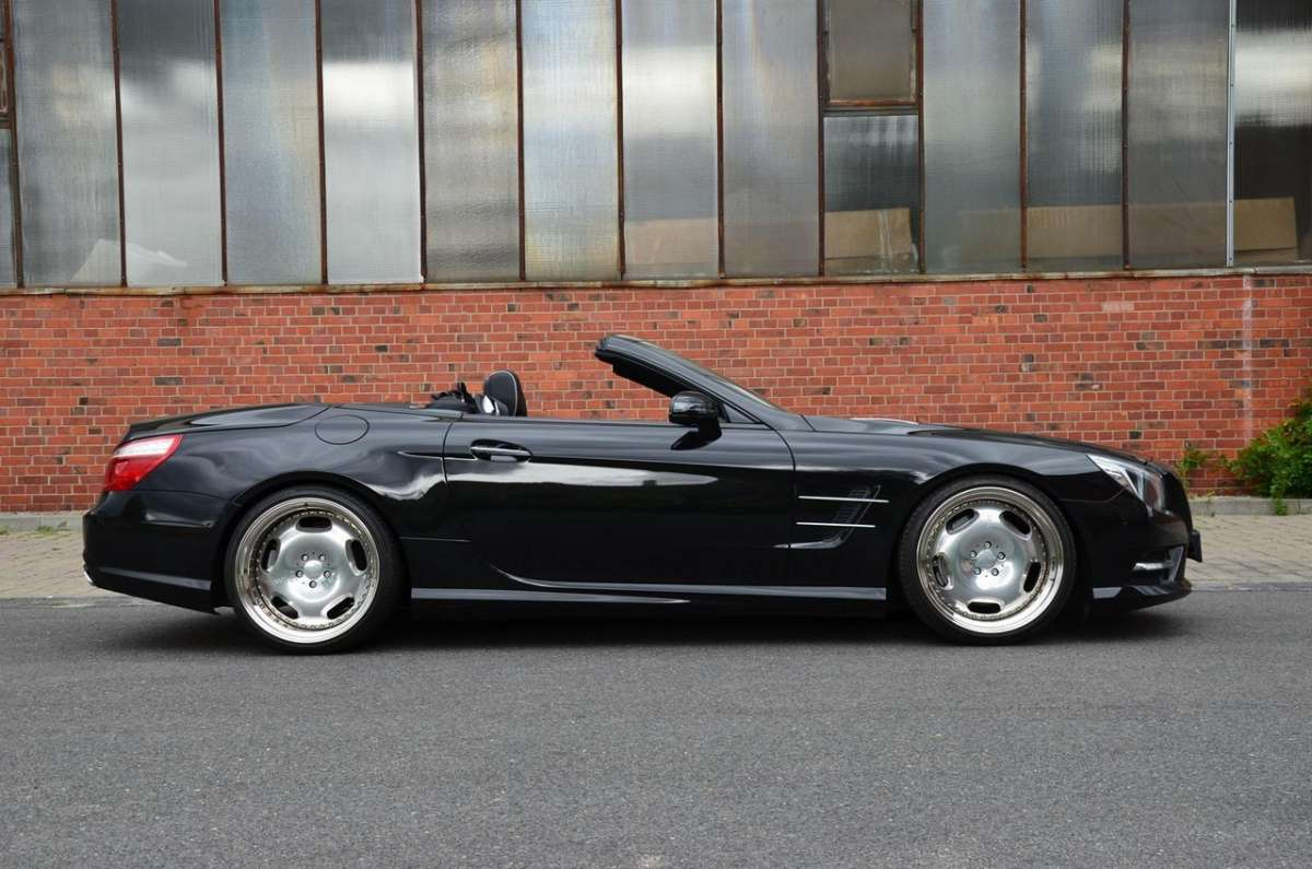 Mercedes SL 500 by MEC Design lato