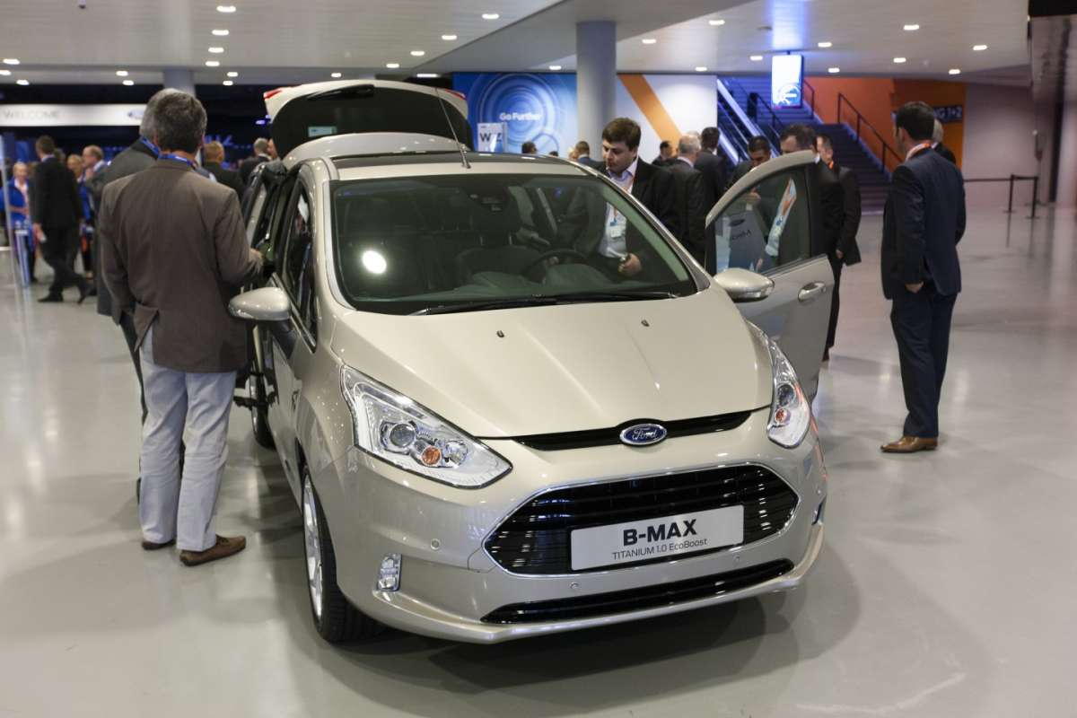 Ford Go Further Event Ford B-Max