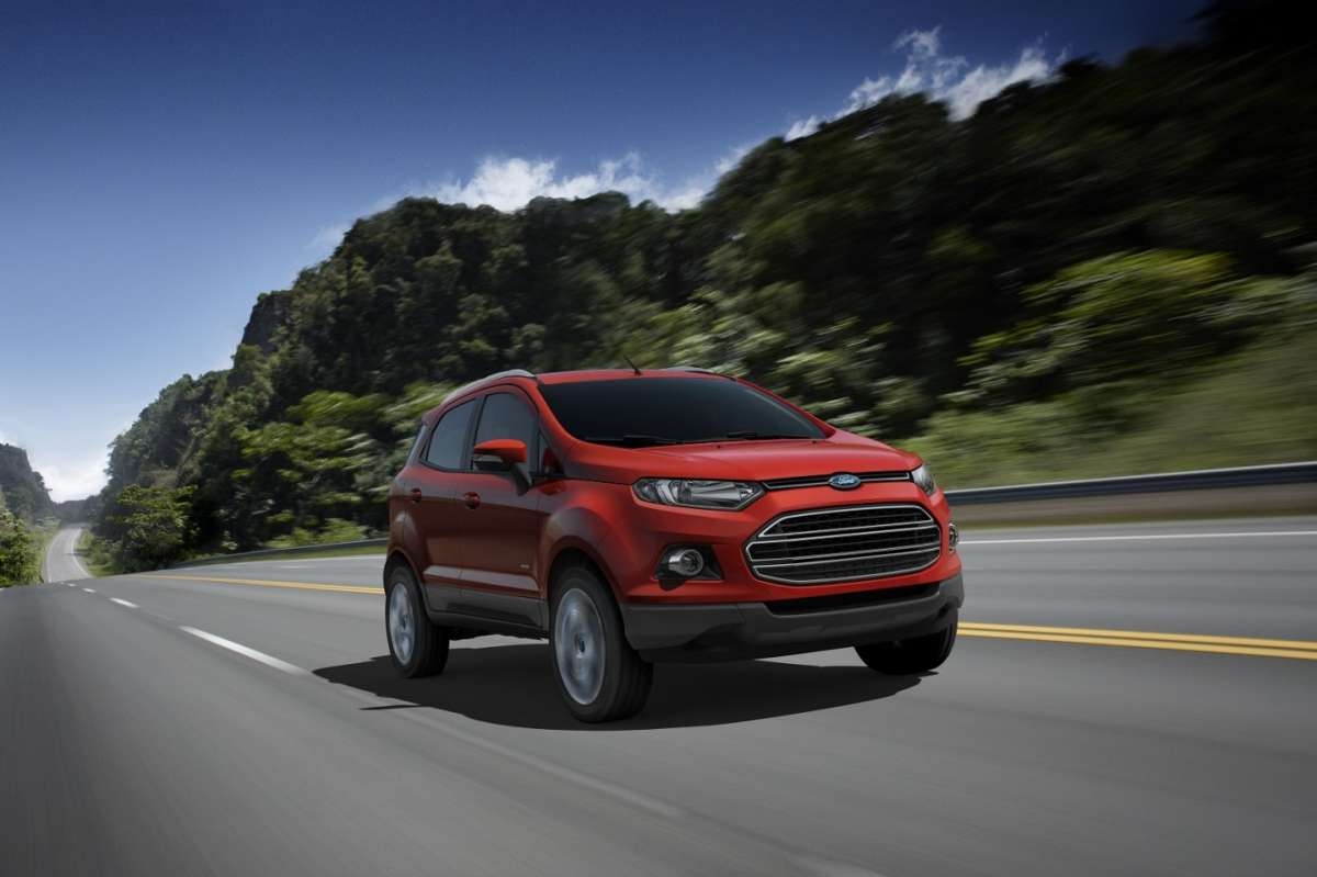 Ford EcoSport-frontale