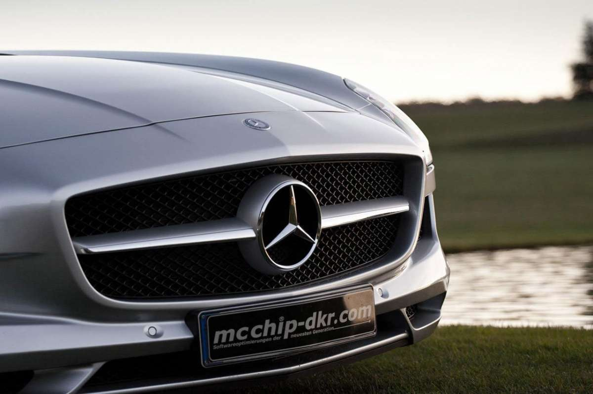 Mercedes SLS AMG MC700 by McChip muso
