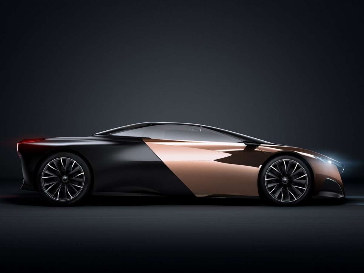 Peugeot Onyx Concept - laterale