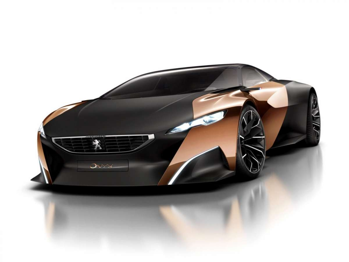 Peugeot Onyx Concept - frontale
