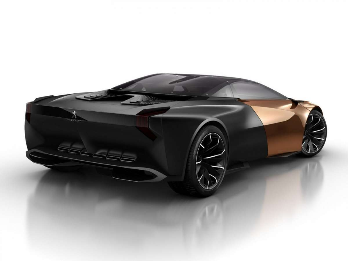 Peugeot Onyx Concept - posteriore (2)