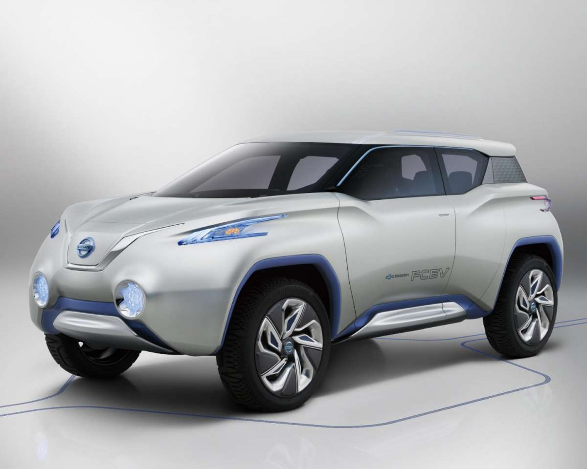 Nissan Terra Concept, frontale
