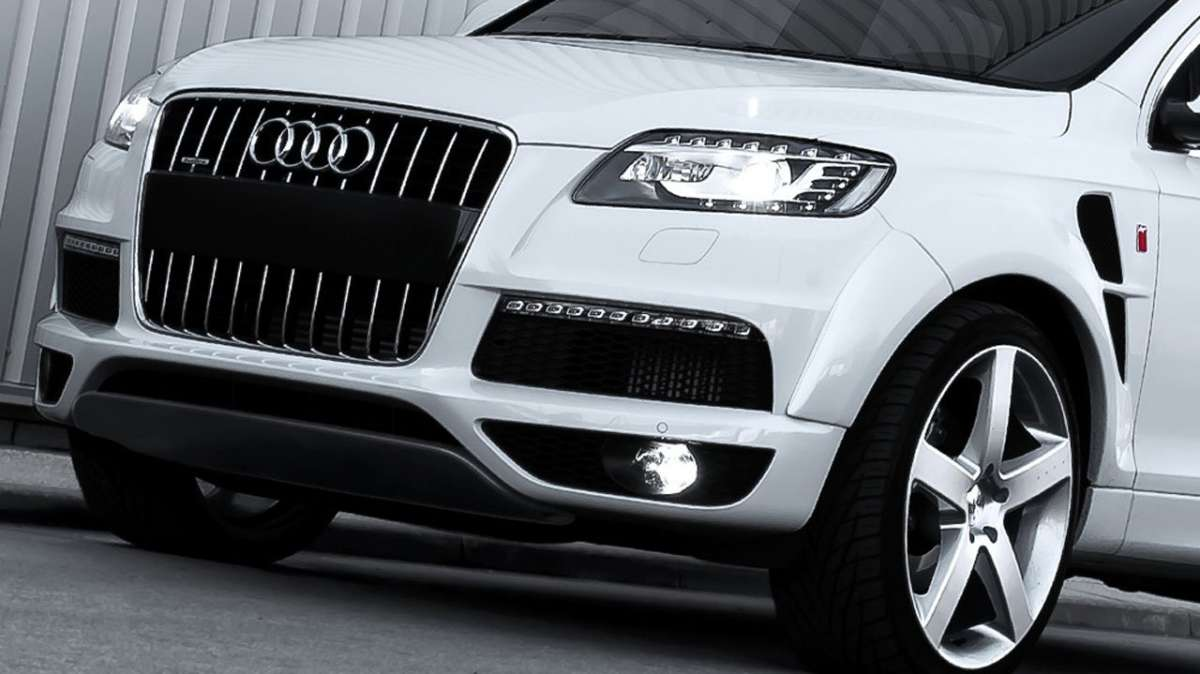 Audi Q7 by Kahn Design frontale