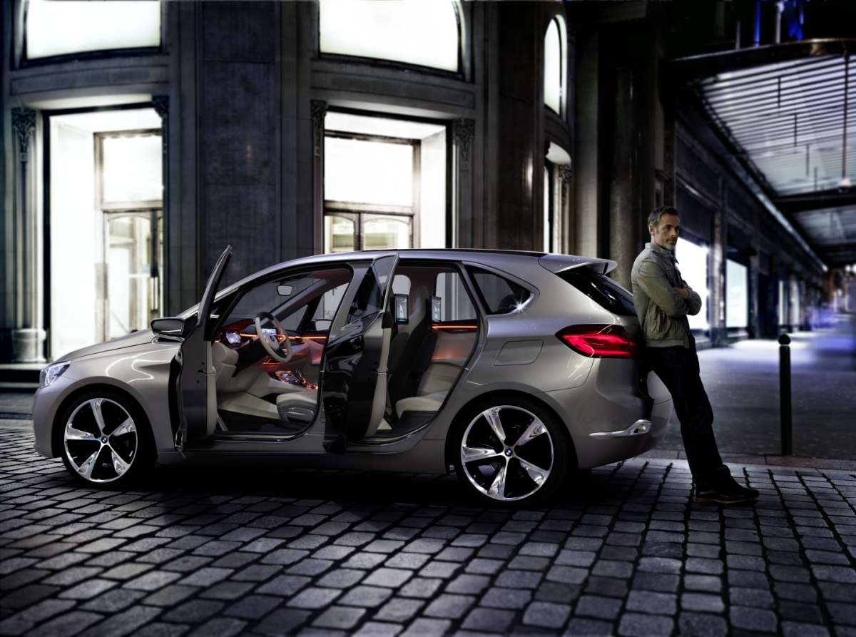 Bmw Active Tourer Concept, porte