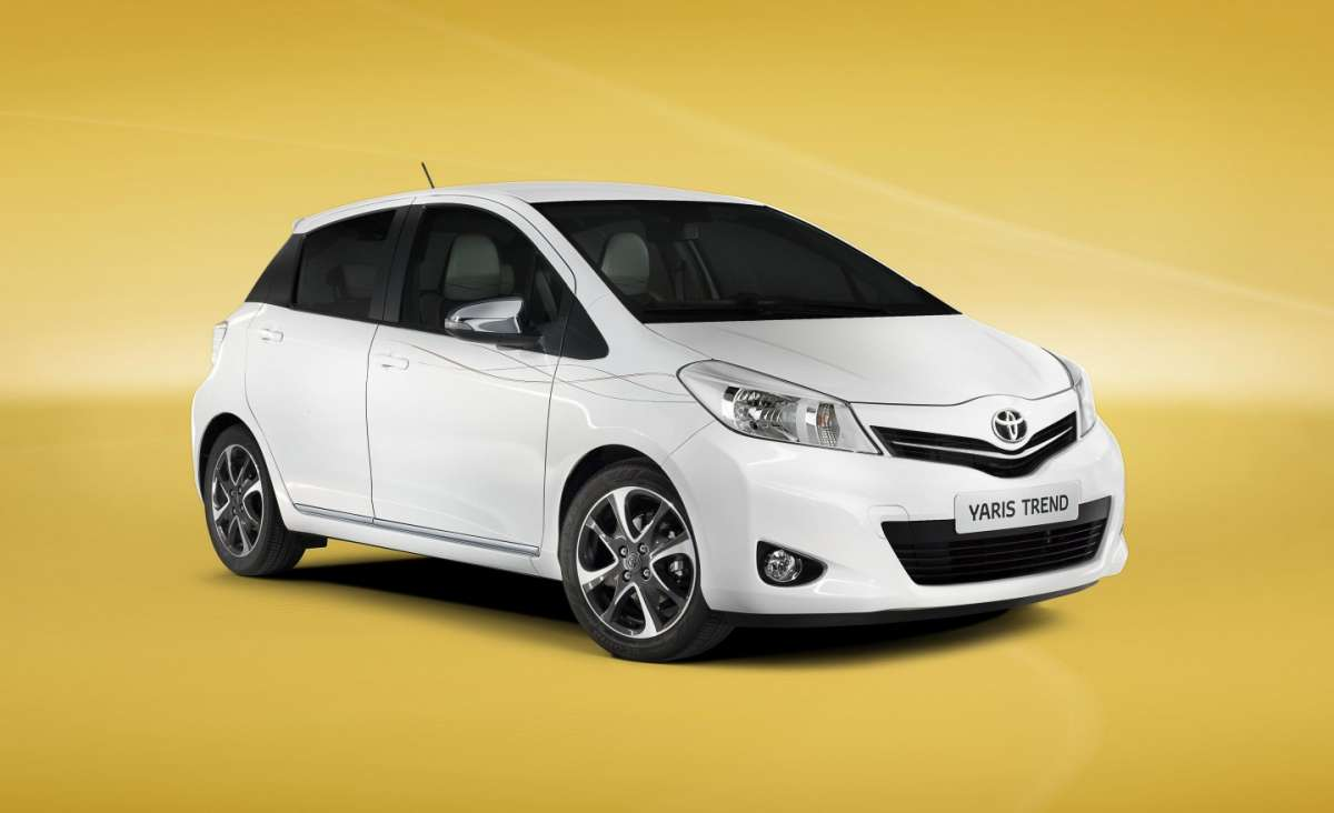 Toyota Yaris Trend, frontale