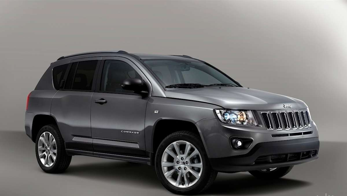 Jeep Compass Limited Salone di Parigi 2012 anteriore