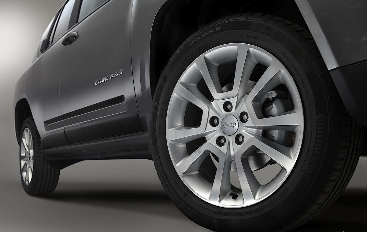 Jeep Compass Limited Salone di Parigi 2012 particolare