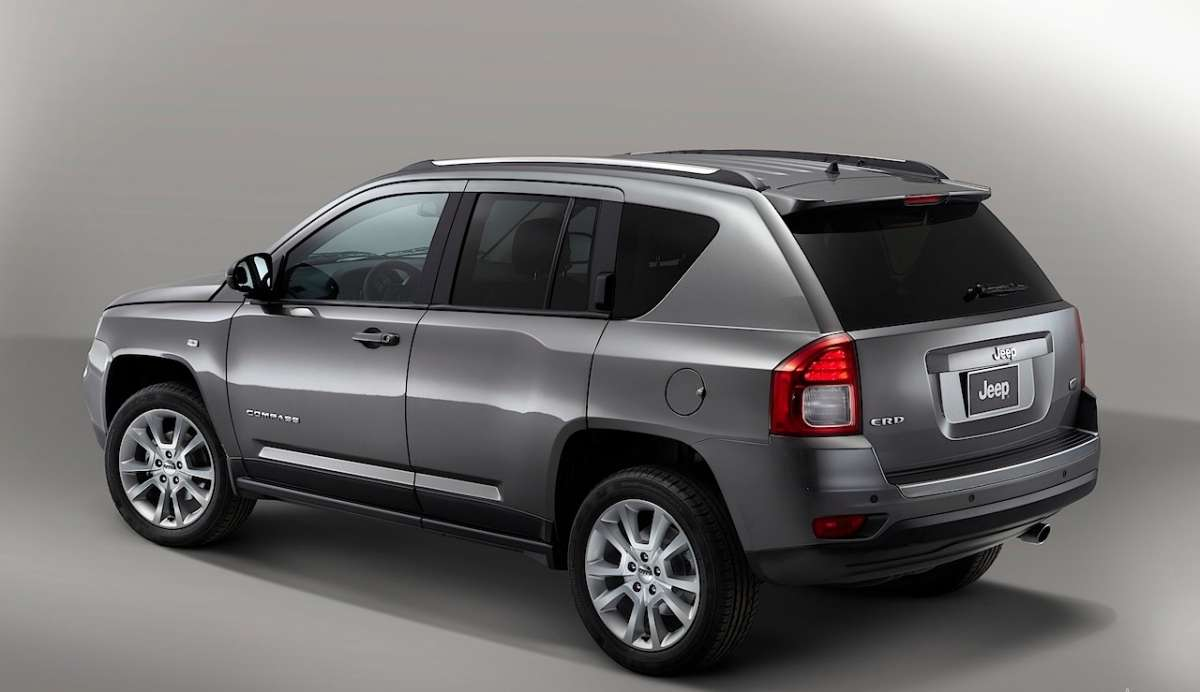 Jeep Compass Limited Salone di Parigi 2012