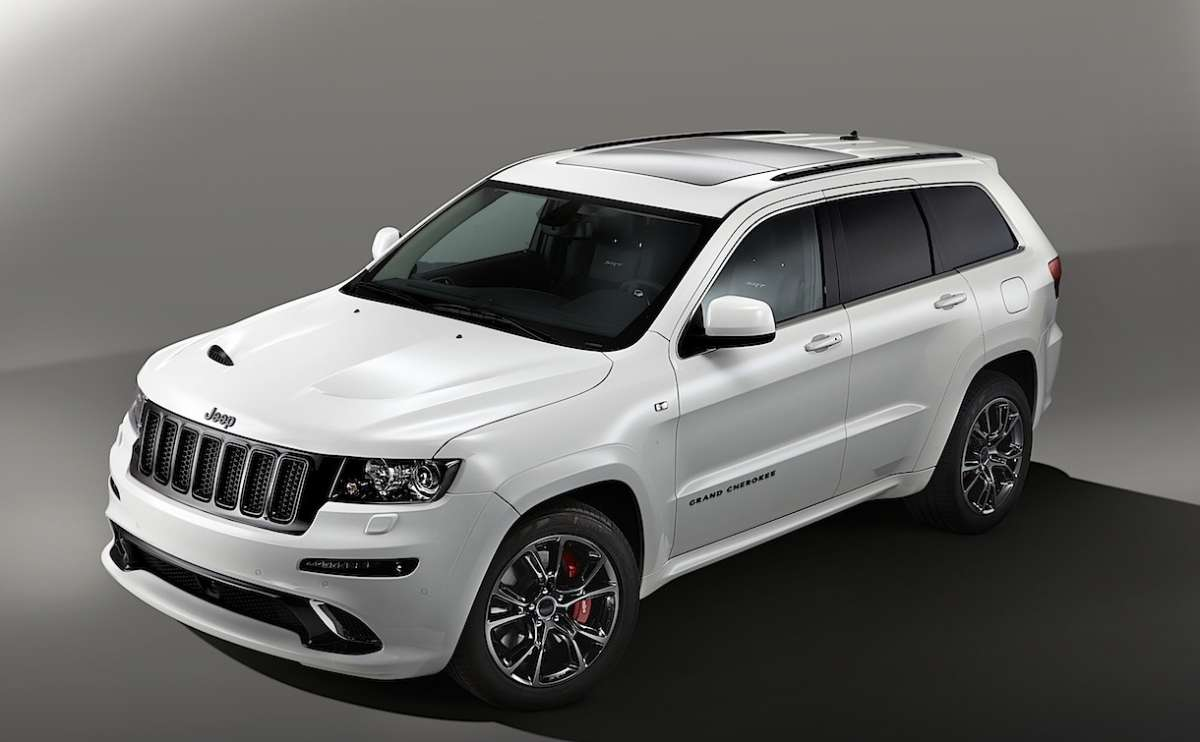 Jeep Grand Cherokee Limited Edition Salone di Parigi 2012 anteriore