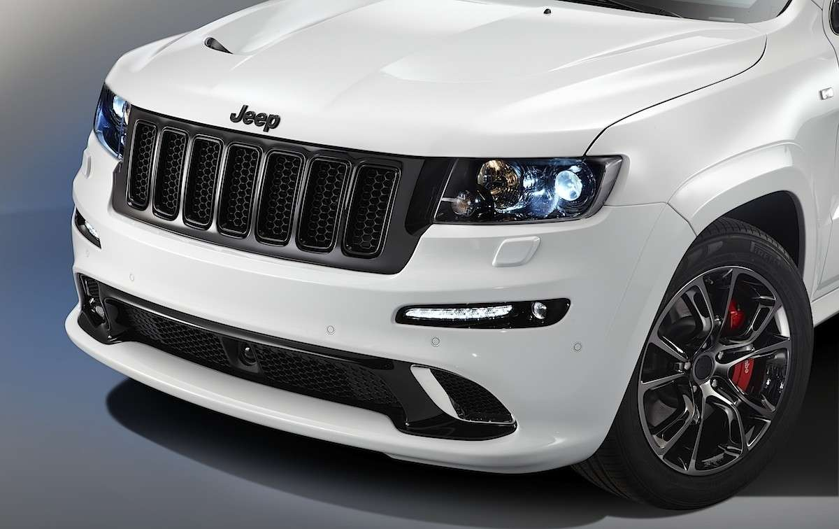 Jeep Grand Cherokee Limited Edition Salone di Parigi 2012 calandra
