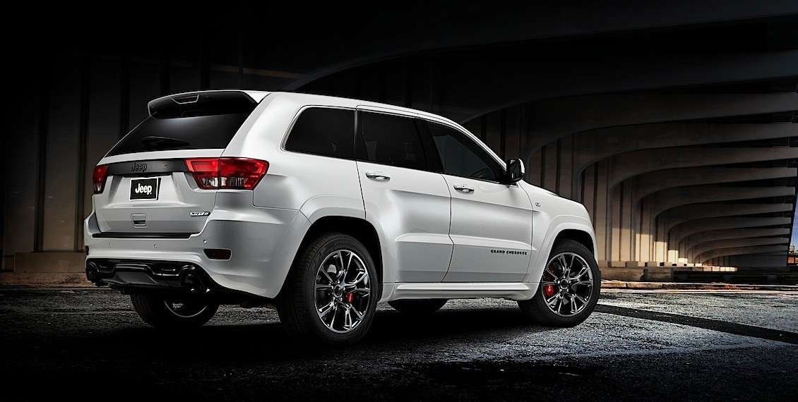 Jeep Grand Cherokee Limited Edition Salone di Parigi 2012 fiancata