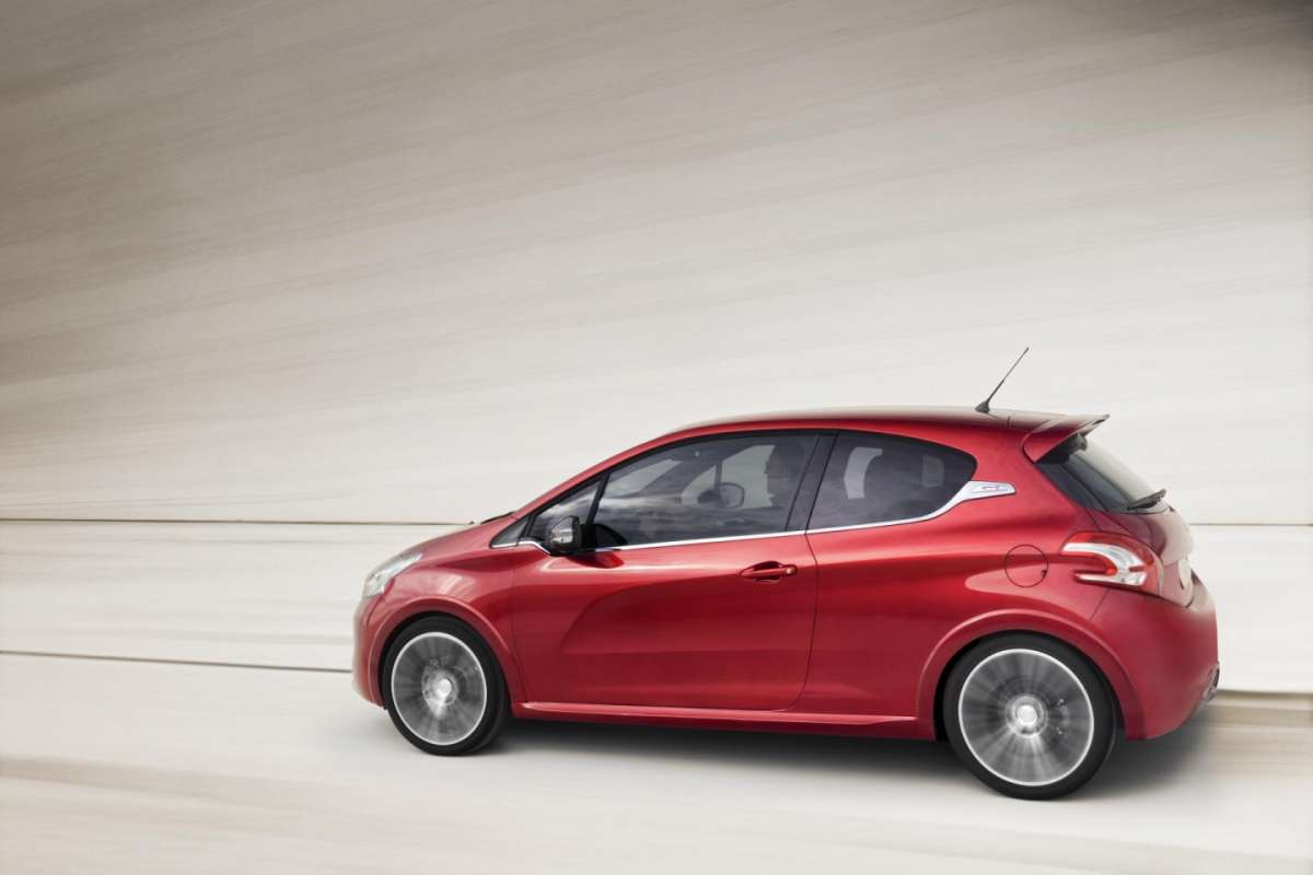 Peugeot 208 Gti-laterale