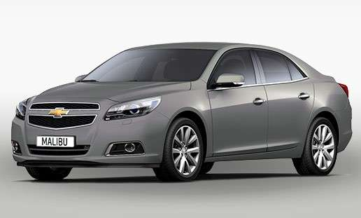 Chevrolet Malibu 2013 placid grey