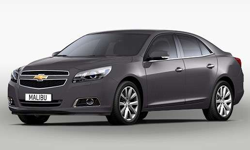 Chevrolet Malibu 2013 smokey grey