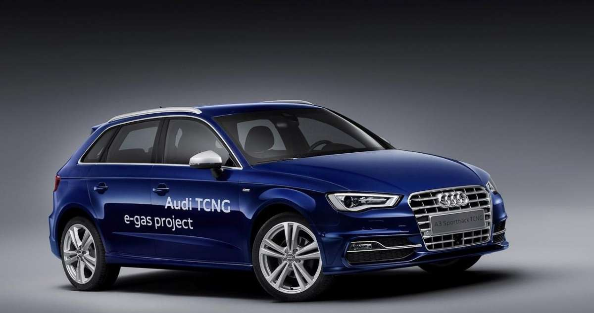 Audi A3 Sportback TCNG-frontale