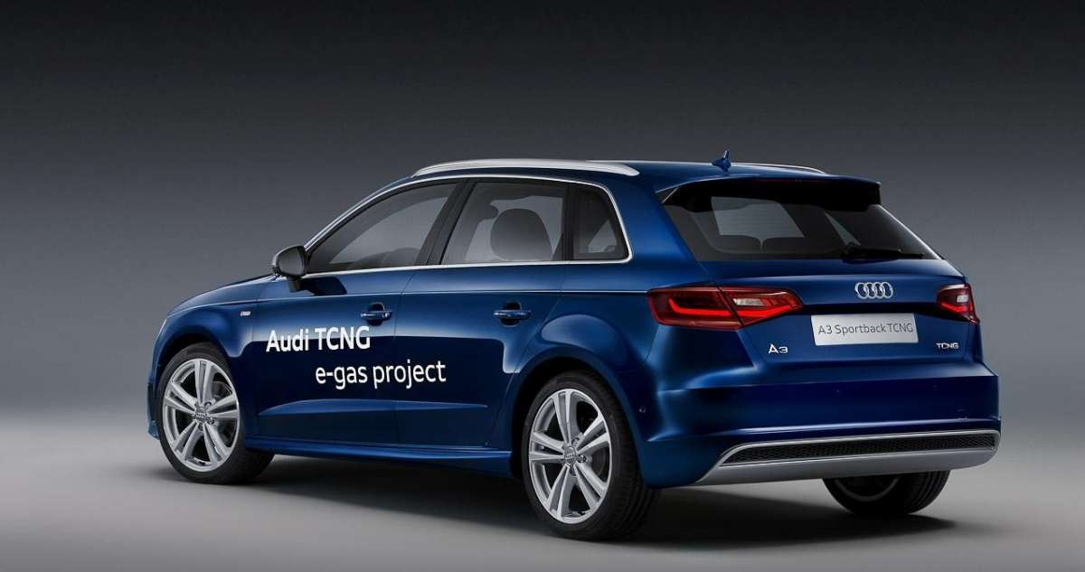 Audi A3 Sportback TCNG-posteriore