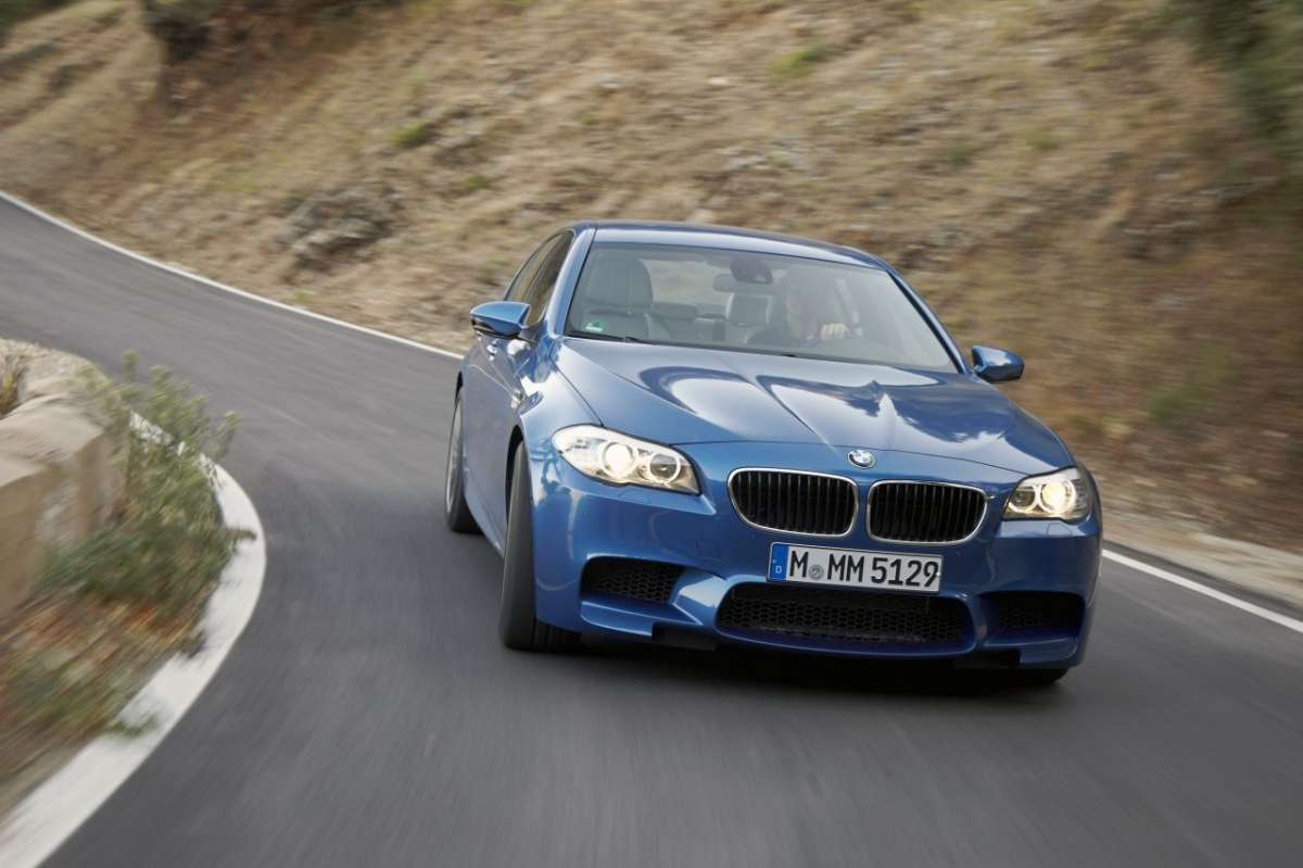 BMW M5 F10 frontale (2)