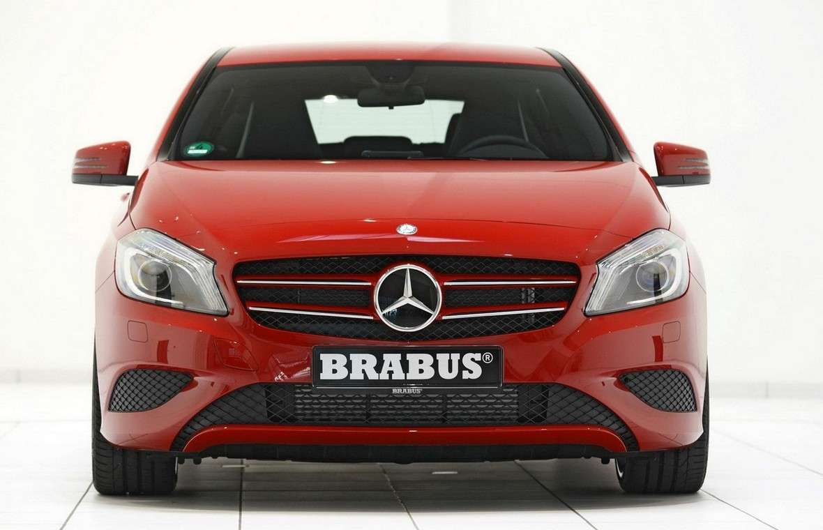 Mercedes Classe A 2012 by Brabus-frontale