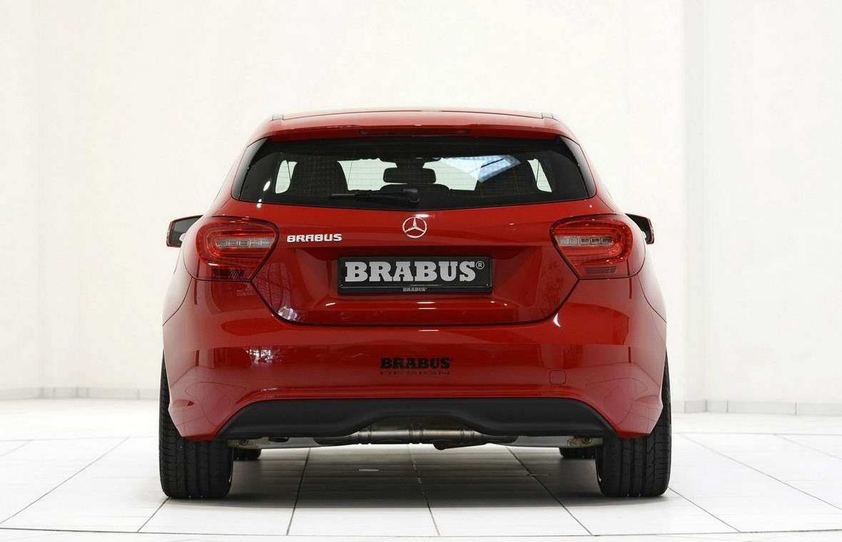 Mercedes Classe A 2012 by Brabus-posteriore
