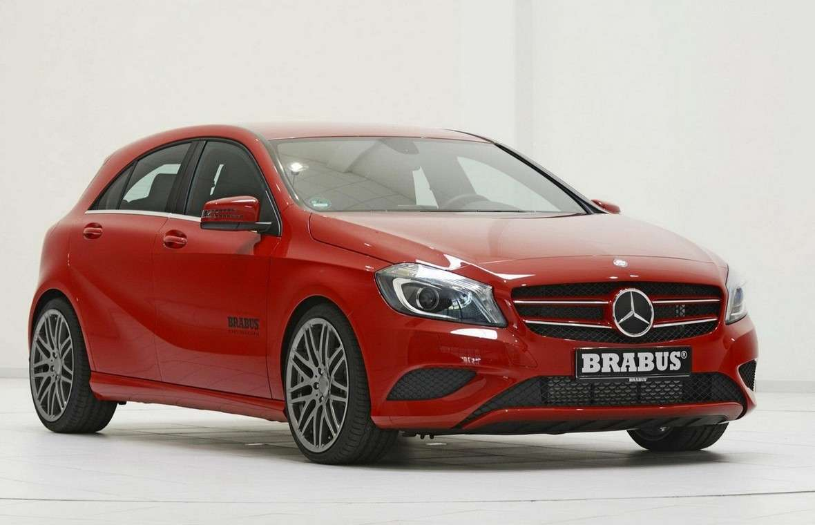 Mercedes Classe A 2012 by Brabus-3/4 anteriore