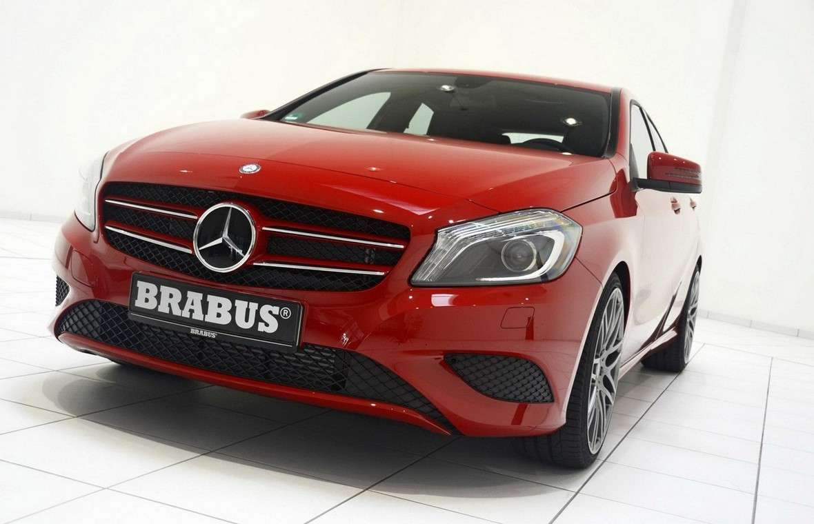 Mercedes Classe A 2012 by Brabus-anteriore