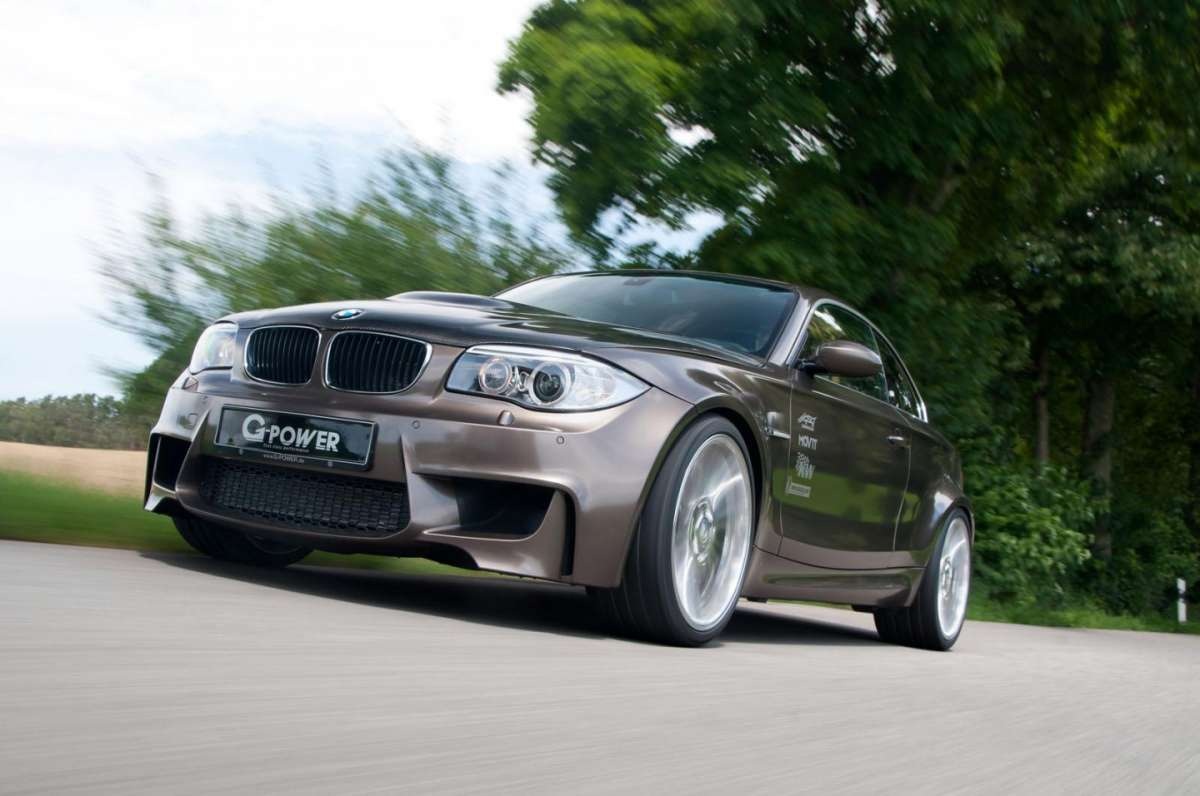 BMW Serie 1 Coupè tuning by G-Power frontale