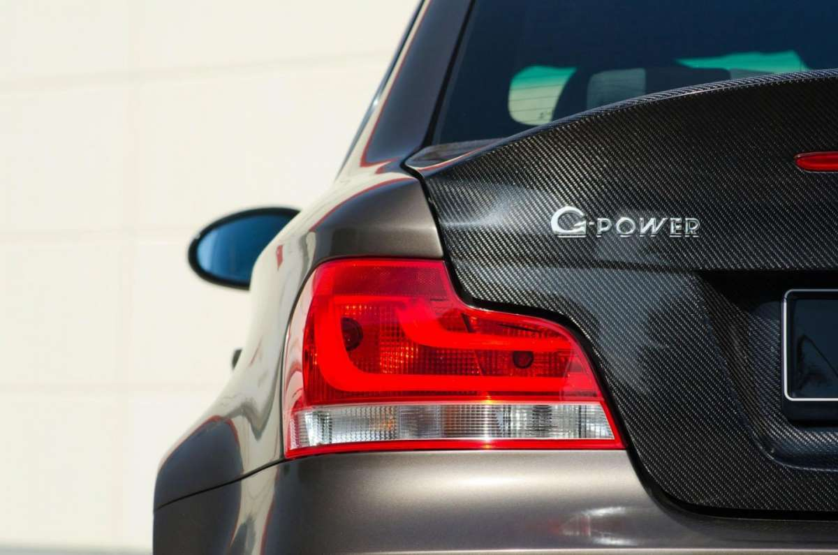 BMW Serie 1 Coupè tuning by G-Power logo