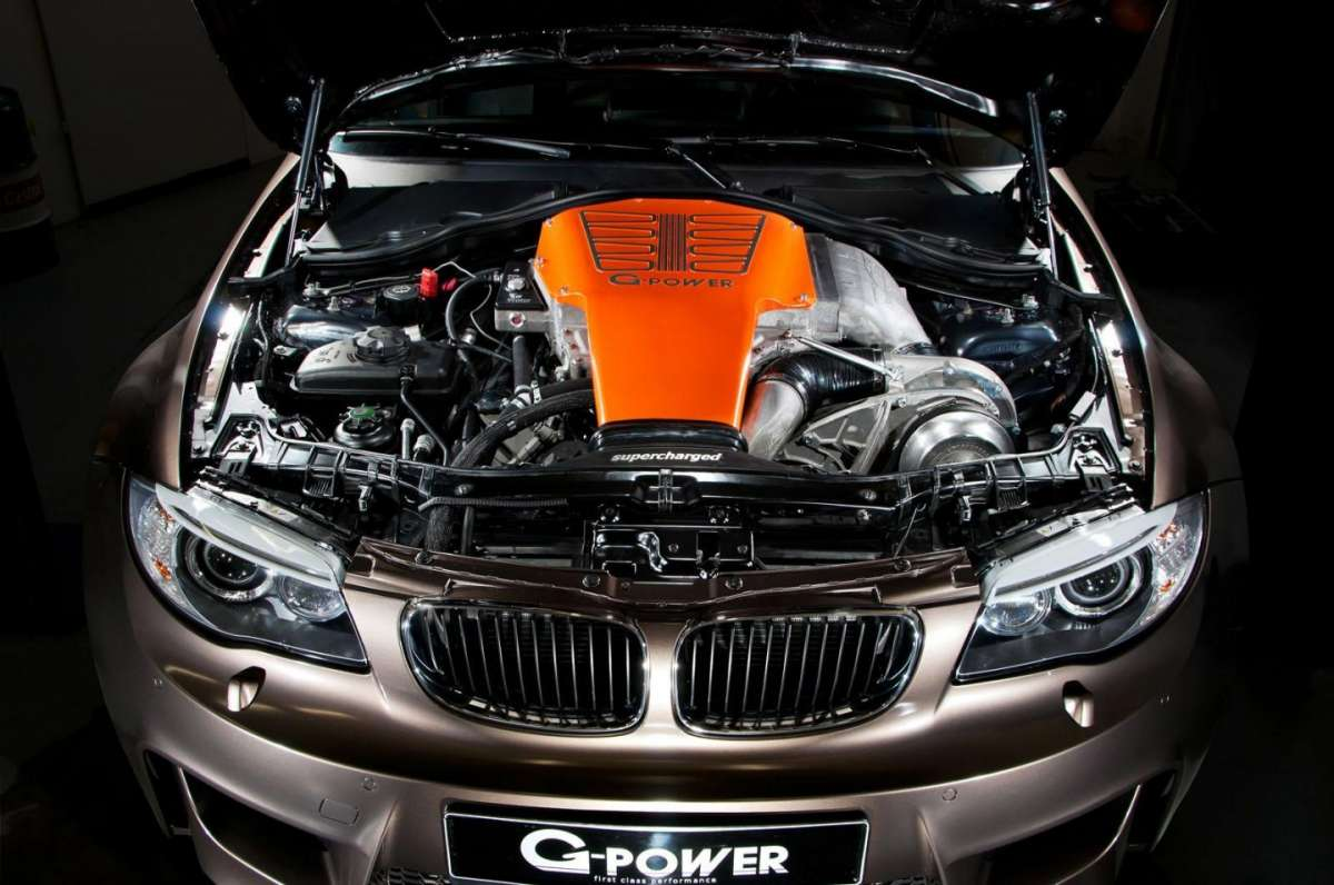 BMW Serie 1 Coupè tuning by G-Power propulsore