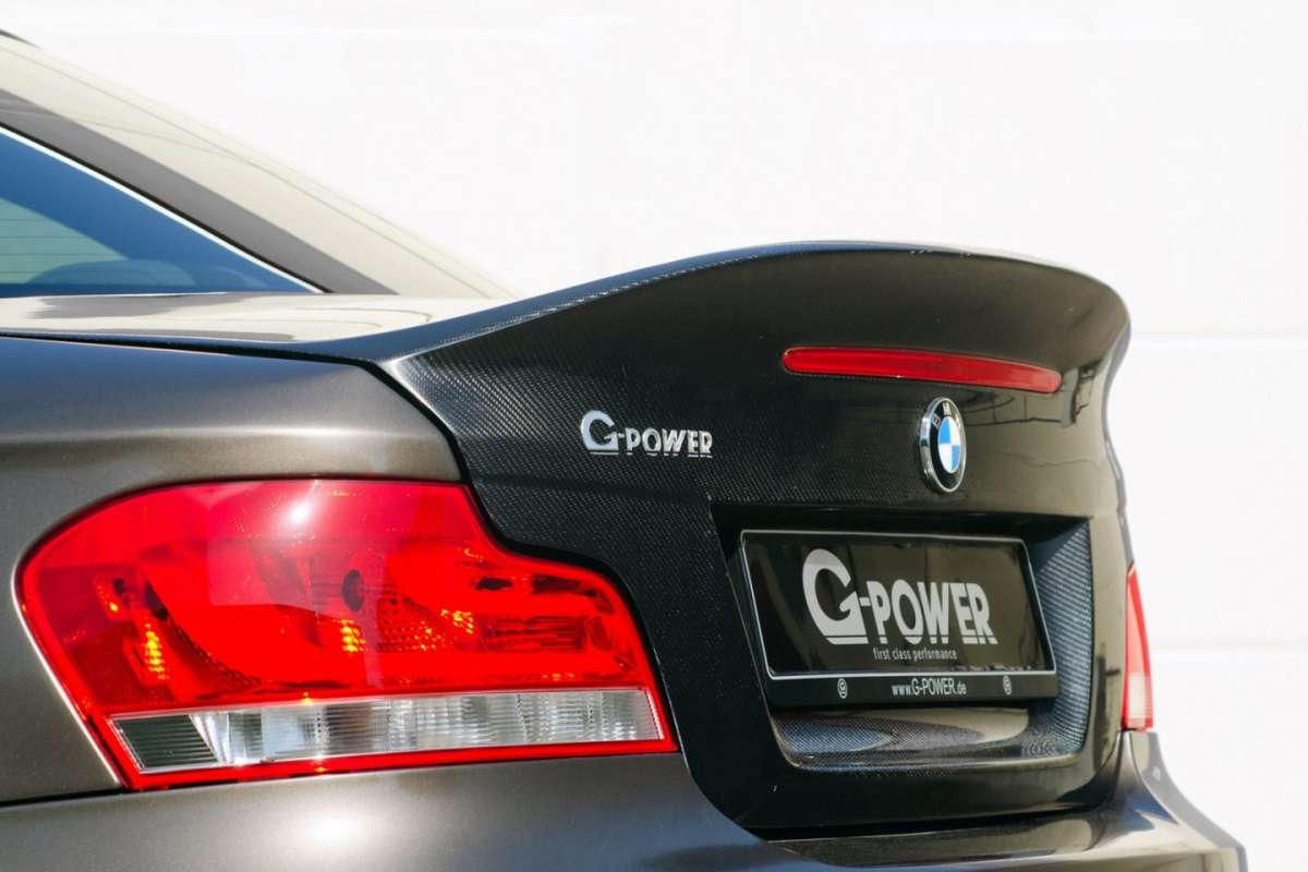 BMW Serie 1 Coupè tuning by G-Power baule
