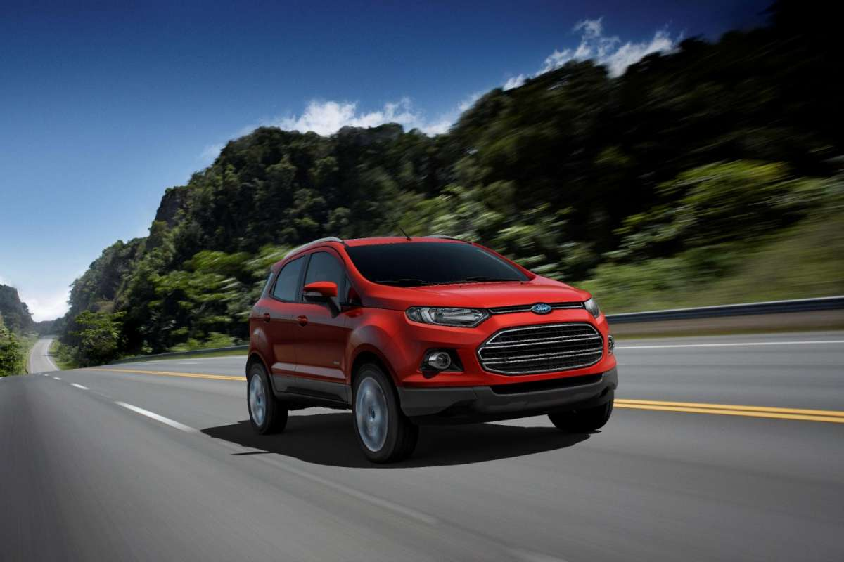Ford Ecosport, frontale