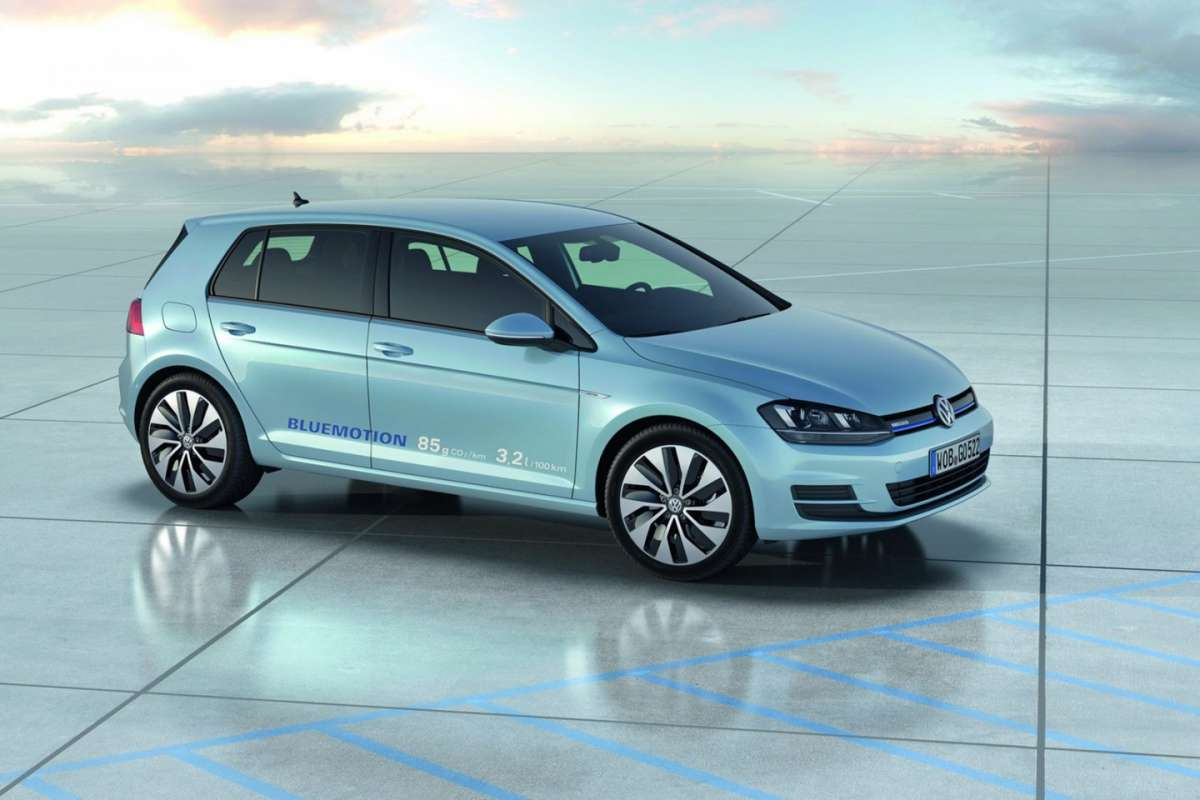 Volkswagen Golf 7 BlueMotion Concept fiancata