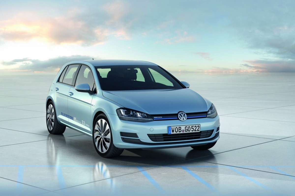 Volkswagen Golf 7 BlueMotion Concept