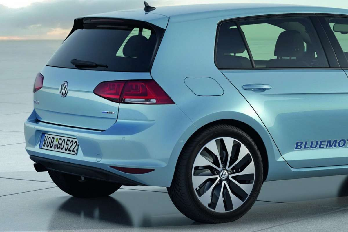 Volkswagen Golf 7 BlueMotion Concept coda