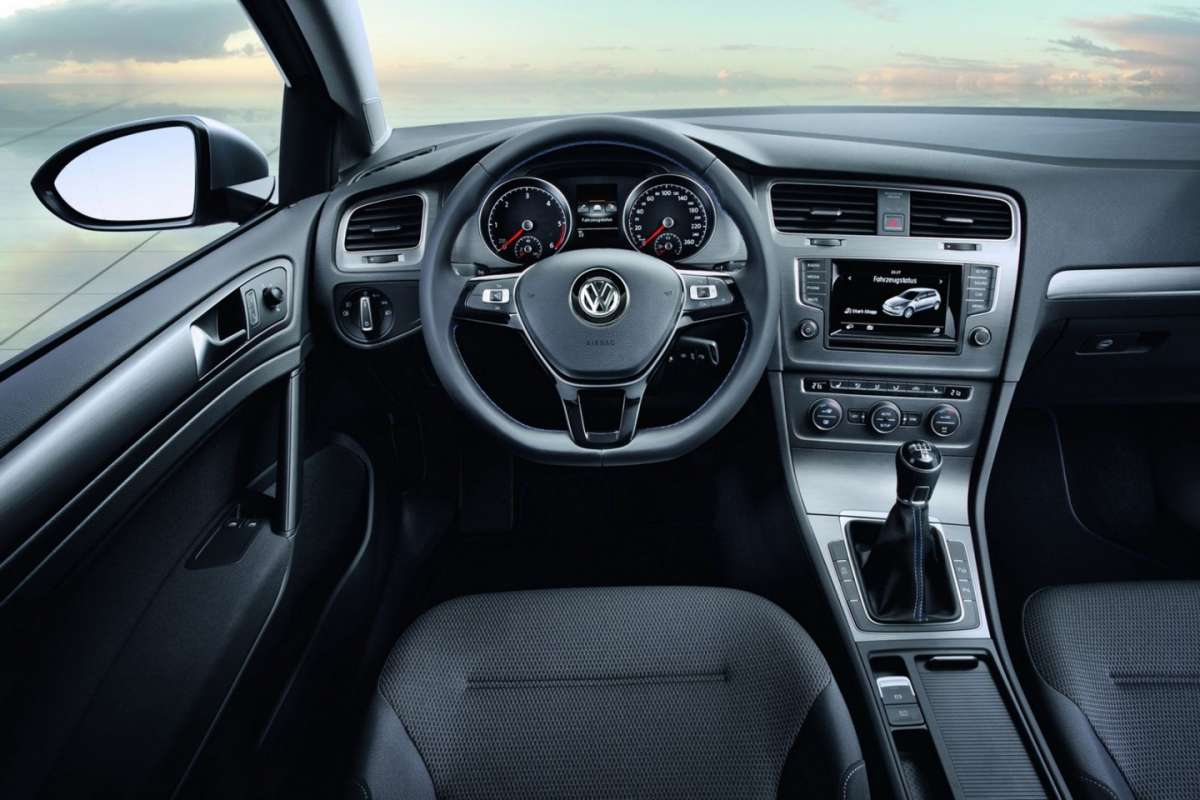 Volkswagen Golf 7 BlueMotion Concept interni