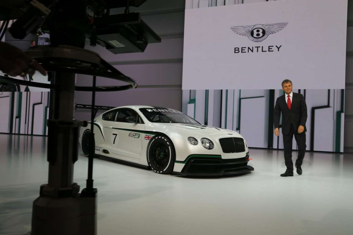 Bentley Continental GT3, Salone di Parigi 2012 (2)