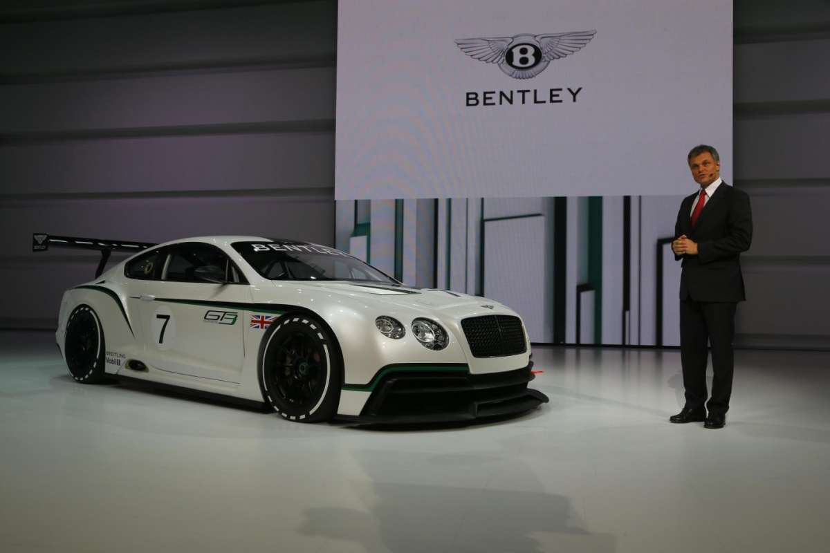 Bentley Continental GT3, Salone di Parigi 2012 (3)