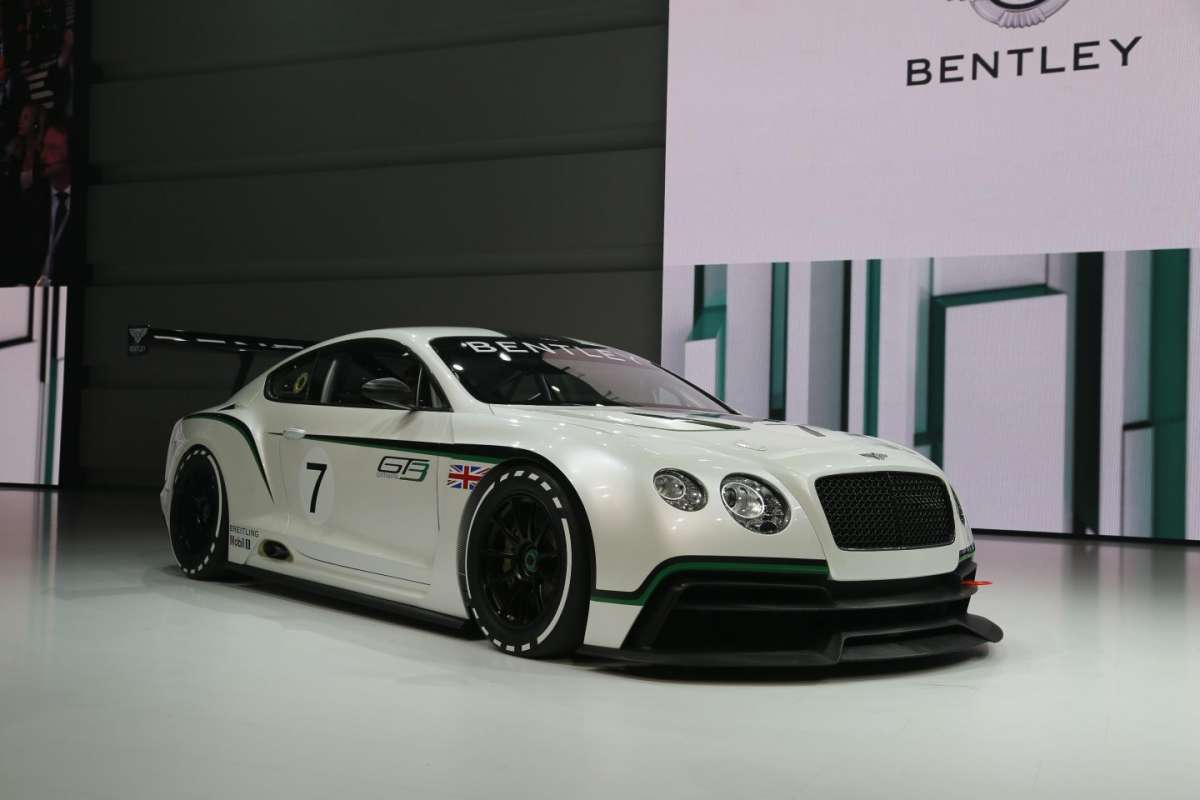 Bentley Continental GT3, Salone di Parigi 2012