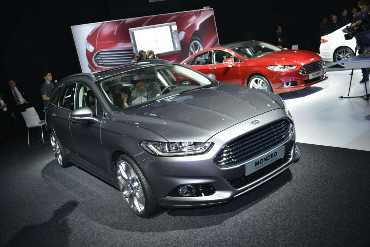 Ford Mondeo station wagon, Salone di Parigi 2012